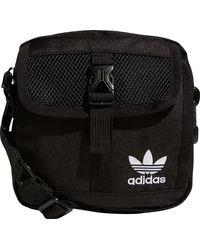 adidas Festival Large Crossbody Bag - Black