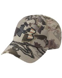 0a8099d768f8b1 Under Armour Ua American Flag Camo Baseball Cap Big Logo 2.0 1282392 ...