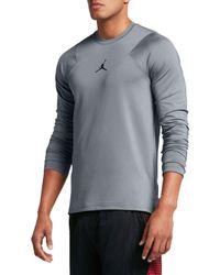 Nike - Jordan Flight Performance Long Sleeve Basketball Shirt - Lyst