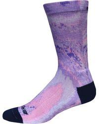 Brooks Empower Her Collection Tempo Crew Socks - Purple