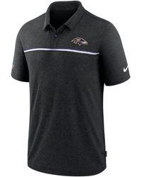 Nike - Baltimore Ravens Sideline Early Season Polo - Lyst