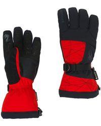 Spyder Overweb Gore-tex Gloves - Red
