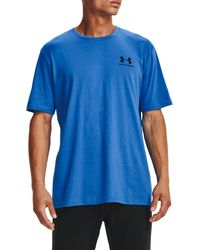 Under Armour - Sportstyle Left Chest Graphic T-shirt (regular And Big & Tall) - Lyst