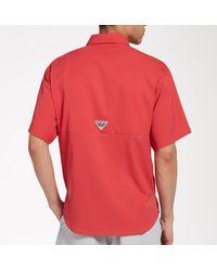 Columbia Tamiami Ii Shirt - Red