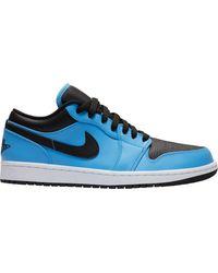 Nike Jordan Air Jordan 1 Low Basketball Shoes - Blue