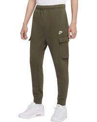 Nike - Sportswear Club Fleece Cargo Pants (regular And Big & Tall) - Lyst