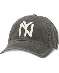 American Needle New York Black Yankees Archive Adjustable Black Hat