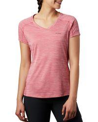 Columbia Zero Rules T-shirt - Pink