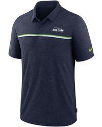 Nike - Seattle Seahawks Sideline Early Season Polo - Lyst