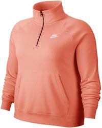 nike sportswear essential 1/4 zip