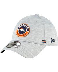 KTZ Denver Broncos Sideline Road 39thirty Stretch Fit Hat - Multicolor
