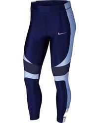 12d1ef7f7e708 Nike Tokyo Power Speed Leggings in Black - Lyst