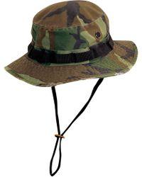 Dorfman Pacific - Jungle Camo Boonie Hat - Lyst