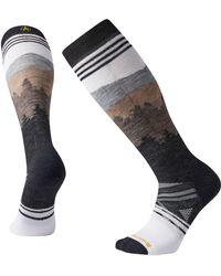 Smartwool Phd Ski Medium Over The Calf Socks - Gray