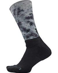 Under Armour Unrivaled Novelty Crew Golf Socks - Gray