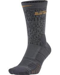 Nike - Elite Lebron Quick Basketball Crew Socks - Lyst
