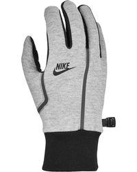 Nike Tech Fleece Gloves - Gray