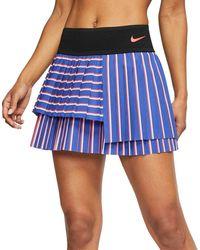 Nike Court Slam Tennis Skirt - Blue