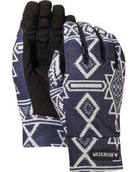 Burton - Touch N' Go Printed Liner Gloves - Lyst