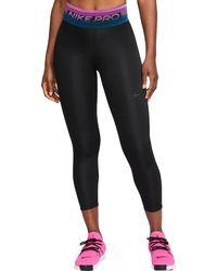 Nike Pro Dri-fit 7/8 Tights - Black