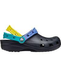 Crocs™ Adult Triple Strap Clogs - Blue