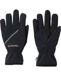 Columbia Wind Bloc Fleece Gloves - Black