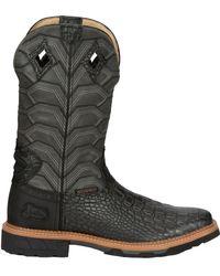 Justin Boots Justin Derrickman Waterproof Western Work Boots - Multicolor