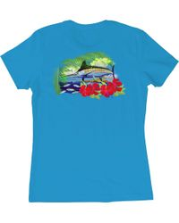 Guy Harvey - Lady's Sunny Palms T-shirt - Lyst