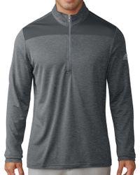 adidas - Lightweight Upf Quarter-zip Golf Pullover - Lyst