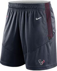 Nike - Houston Texans Sideline Dri-fit Marine Performance Shorts - Lyst