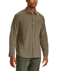 Under Armour Payload Button Down Shirt - Green