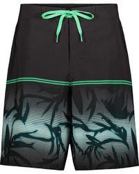 Under Armour Palm Haze Gradient Swim Trunks - Black
