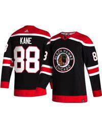 adidas Chicago Blackhawks Patrick Kane #88 Reverse Retro Adizero Authentic Jersey