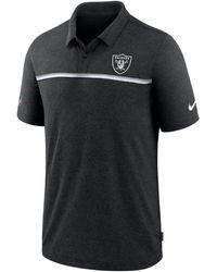Nike - Las Vegas Raiders Sideline Early Season Polo - Lyst