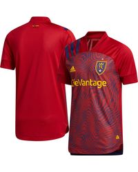 adidas Real Salt Lake '20 Primary Authentic Jersey - Red