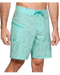 Under Armour Tide Chaser Board Shorts (regular And Big & Tall) - Blue