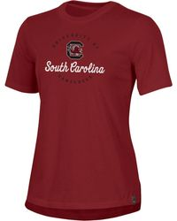 Under Armour South Carolina Gamecocks Garnet Performance Cotton T-shirt - Red