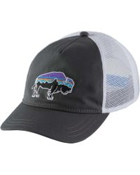 22851374 Patagonia Painted Fitz Roy Interstate Hat in Blue - Lyst