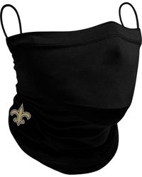 KTZ Adult New Orleans Saints Neck Gaiter - Black