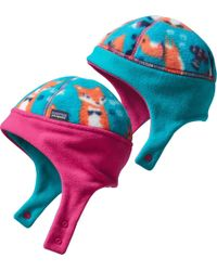 Patagonia - Infant Reversible Synchilla Fleece Hat - Lyst