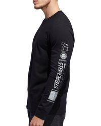 adidas Athletics Hypersport Amplifier Long Sleeve Shirt - Black