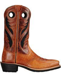 Ariat - Heritage Roughstock Venttek Western Boots - Lyst