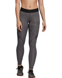adidas Alphaskin Sport Long Tights - Black