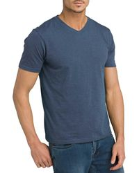 Prana V-neck T-shirt - Blue