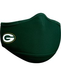KTZ Adult Green Bay Packers Green Face Mask