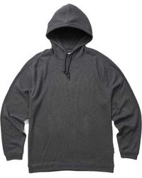 Wolverine Walden Hooded Thermal Pullover - Gray