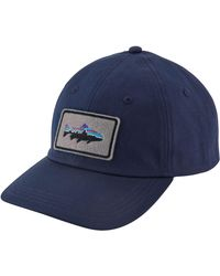 Patagonia Fitz Roy Trout Patch Trad Cap - Blue