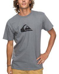 Quiksilver - Comp Logo T-shirt - Lyst