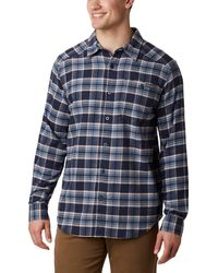 Columbia Cornell Woods Flannel Long Sleeve - Blue