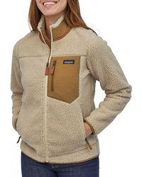 Patagonia Classic Retro-x Fleece Jacket - Brown